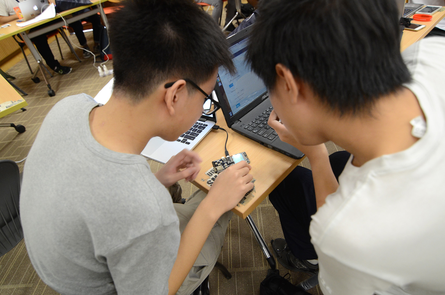 Solving the hardware badge challenge
